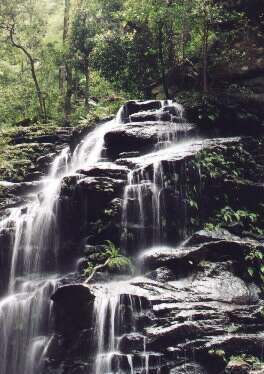 Empress Falls, Blue Mountains, Australia